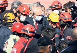 Kılıçdaroğlu deprem bölgesinde: Üzerimize düşen  görevi yapmaya hazırız