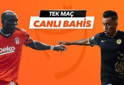 Beşiktaş-Yeni Malatyaspor canlı bahis heyecanı Misli.comda