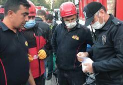 İzmirde enkazda altın dolu çanta bulundu