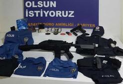 Polis üniforması giyen dolandırıcılık zanlısı yakalandı