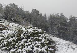 Karabükte yılın ilk karı