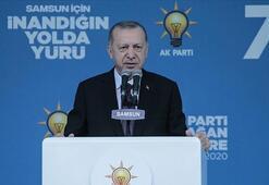 Cumhurbaşkanı Erdoğan Samsun'da konuştu: Yaraları saracağız