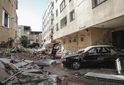 Son dakika.... İzmirdeki depremde iflas detayı Site sakini konuştu...