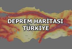 Deprem Haritası Türkiye | Deprem neden olur İşte deprem türleri...
