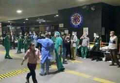 Yaralıları ayakta beklediler Kulağımız ambulans sesinde...