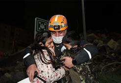 Elifi kurtaran görevlilere resim ile teşekkür ettiler
