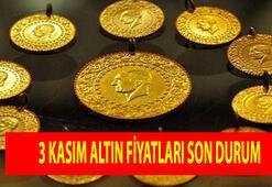 Altın fiyatları 3 Kasım canlı takip ekranı: Bugün, gram, çeyrek, yarım ve tam altın ne kadar, kaç lira