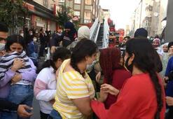 İstanbulda panik anları Yangında mahsur kalan 30 kişi kurtarıldı