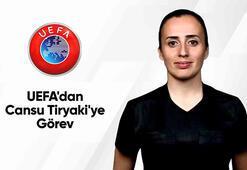UEFAdan Cansu Tiryakiye görev