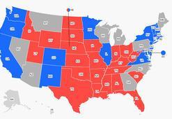 Son dakika: ABD seçim sonuçları Kim nereyi kazandı