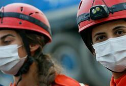 Depremde hayat kurtaran JAKın kadın kahramanları