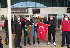Karabağ, Sivas'ta 'Çırpınırdı Karadeniz' türküsüyle karşılandı