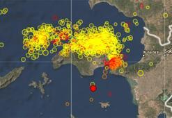 Son dakika Egede deprem fırtınası