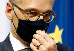 Tüm görüşmeleri iptal edildi Almanya Dışişleri Bakanı karantinada