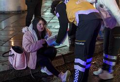 Ankarada gece yarısı kaza: 2si polis 5 kişi yaralandı