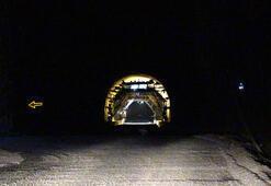 Avrupanın en uzunu olacak Zigana Tünelinin yüzde 76'sı tamamlandı