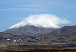 Erzurum ve Ağrının yüksek kesimleri karla kaplandı
