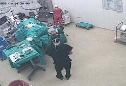 İzmirde ameliyatta deprem anı Organlar adeta yer değiştirdi