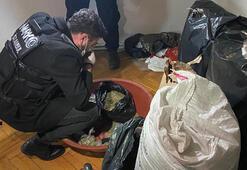 Pendikte 100 kilo uyuşturucu ele geçirildi