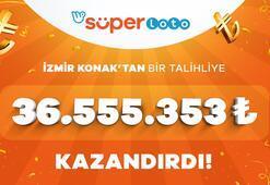 Süper Lotoda büyük ikramiye sahibini buldu Tam 36 milyon 555 bin TL
