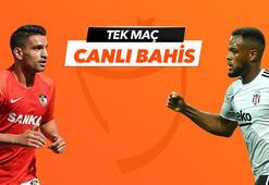 Gaziantep FK - Beşiktaş maçı Tek Maç ve Canlı Bahis seçenekleriyle Misli.com'da