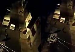 Arnavutköyde bıçaklı saldırgan bacağından vurularak yakalandı