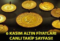 6 Kasım altın fiyatları son durum Bugünkü gram, çeyrek yarım ve tam altın fiyatları ne kadar oldu, kaç TL