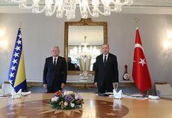 Cumhurbaşkanı Erdoğan, Caferoviçi kabul etti