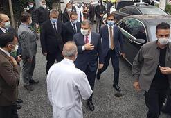 Sağlık Bakanı Koca İstanbulda hastaneleri geziyor