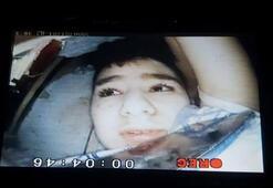 15 yaşındaki Günay kurtarılma anı yılan kamera ile görüntülenmiş