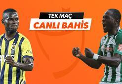 Fenerbahçe - Konyaspor maçı Tek Maç ve Canlı Bahis seçenekleriyle Misli.com'da
