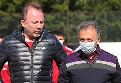 Son dakika - Beşiktaş Başkanı Ahmet Nur Çebi, Sergen Yalçın'la görüşecek