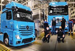 285.000inci kamyonu banttan indi