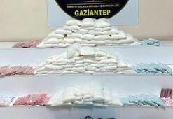 Gaziantepte uyuşturucu operasyonu: 2 gözaltı