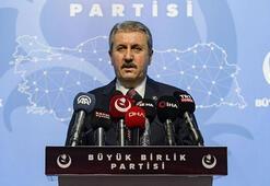 BBP lideri Destici: Zaferin kutlu ve mübarek olsun can Azerbaycan