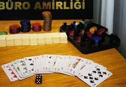Şarköyde kumar oynayan 3 kişiye, 3 bin 684 lira para cezası