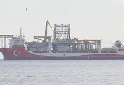 Kanuni Sondaj Gemisi Yenikapı açıklarında