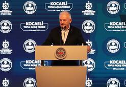Binali Yıldırım, Kocaelinde toplu açılış töreninde konuştu