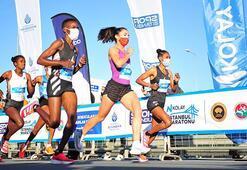 N kolay 42. İstanbul maratonu ilklere sahne oldu