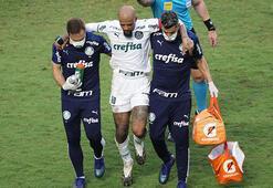 Son dakika - Galatasaraylı eski futbolcu Felipe Melonun ayak bileği kırıldı