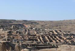 Türkiyenin en büyük kazısı 6 ayda 2 bin eser çıkarıldı