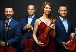 Borusan Quartet canlı yayınla Borusan Klasikte