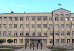 Son dakika: İşgalden kurtarılan Şuşada Azerbaycan bayrağı dalgalanıyor