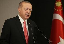 Cumhurbaşkanı Erdoğandan, Azerbaycan Bayrak Günü mesajı
