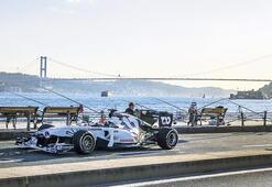 Pierre Gasly'in Formula 1 aracı İstanbul sahilinde arıza yaptı