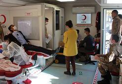 Çaldıranda kan bağışı kampanyası başlatıldı