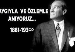 10 Kasım mesajları, sözleri ve şiirleri: Atatürkün 82. ölüm yıl dönümü anma resimli mesajları, yeni, kısa-uzun sözleri