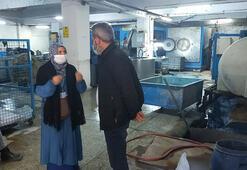Sultangazide mavi akan dere: Kot yıkama atölyesi mühürlendi