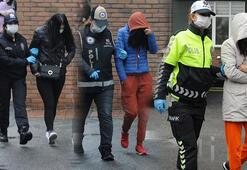 Yabancı uyruklu kadınlara zorla fuhuş yaptıran 16 kişi gözaltına alındı