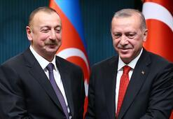 Cumhurbaşkanı Erdoğan, Azerbaycan Cumhurbaşkanı Aliyevi kutladı